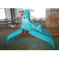 China Wide Design Mechanical Grapple / Grab for Kobelco SK200 Excavator wholesale