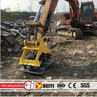 China BEIYI BYKC04 excavator mounted hydraulic vibro plate compactor vibrating compactor wholesale
