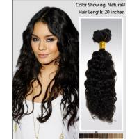 China Elegant 25 Inch / 26 Inch Curly Human Hair Wigs / brazilian curly hair extensions wholesale