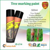China Fast Drying Colorful Marking Spray Paint For Log / Plywood / Railroad Ties wholesale