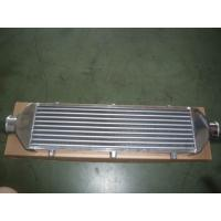 China Compact Vacuum Finned Tube Heat Exchanger / Aluminum Intercooler For Car  wholesale