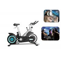 Professional Virtual Reality Bike Games 9D VR Stationary Bike With Multi Screen