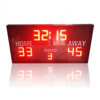 China Ultra Thin LED Electronic Basketball Scoreboard With Remote Controller wholesale