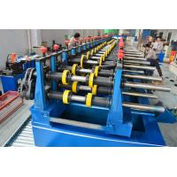 China Automatic 22KW Light Duty Cable Tray Making Machine 5 Tons Hydraulic Decoiler wholesale