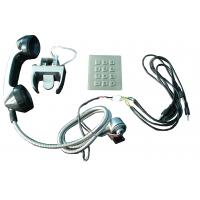 Buy cheap Sliver Alloy weather proof phones Sets With Numeric Keypad for kiosk from wholesalers