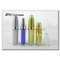 China Bullet Shaped Plastic Airless Bottle 10ml For Serum , Makeup Pump Bottle wholesale
