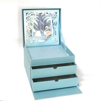 China Strengthen Multilayer Drawer Gift Packaging Paper Box Luxury wholesale
