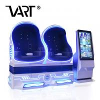 Buy cheap Amusement Park Rides Two Seats Robot VR Egg Cinema / 9D Virtual Reality from wholesalers