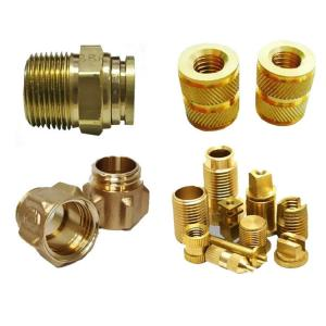 China CNC Milling Ra0.8 5 Axis Copper Bronze Brass Machining Parts wholesale