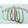 China Retractable Long Coiled Fishing Tool Lanyard , Fall Protection Fishing Rod Leash wholesale