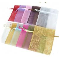 China Mini Sized Drawstring Jewelry Pouch 25x25cm Dimension For Gift Packaging wholesale