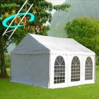China Aluminum 6061-T6 PUV Top Wedding Marquee Tents Outdoor wholesale
