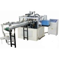 China High Efficiency Automatic Paper Lid Making Machine With Hot Melt Glue Box wholesale