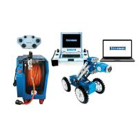 China Lightweight CCTV Pipe Inspection Equipment With Wireless Control wholesale