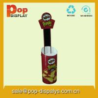 Quality Round Crisps Dump Bin Display Stands ,POP Retail Display Rack for sale