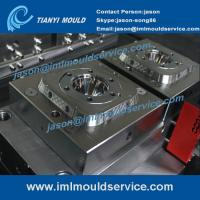 200g thin wall food box packaging molded service, in mold label thin wall container mould