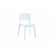 China Plastic Creative High Back Pp Dining Chair , Smell Free Modern Leisure Chair wholesale
