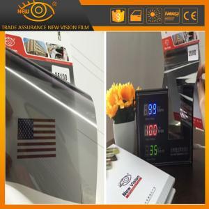 China High heat rejection 100% black 35% vlt nano ceramic car window solar tint film wholesale