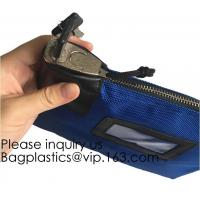 Buy cheap Locking Satchel A3 Money Bags,Leatherette Cash Bag,Utility Coin Bag for Business from wholesalers