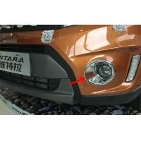 Quality Front And Rear Fog Lamp Covers For Suzuki Vitara 2015 Bumper Light Frame for sale
