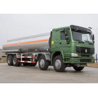 China 25 CBM Lpg Tanker Truck , HOWO Four Axles 371HP Fuel Oil Delivery Truck wholesale