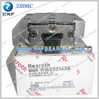 China Germany Rexroth R165321420 Linear Motion Ball Rail System Runner Block wholesale