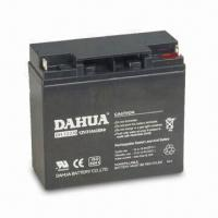China 12V Sealed Rechargeable Battery with Stable Performance and 21Ah Rated Capacity wholesale