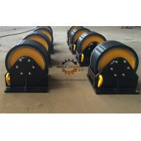 China Manual Fit Up Vessel Turning Rolls With Double Driver 40 Ton Loading Capaicty wholesale