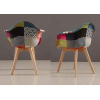 China European Design Patchwork Dining Chair wholesale