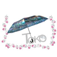 China Compact Sun Auto Open Umbrella , Self Opening And Closing Umbrellas Solid Frame wholesale