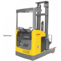 China Seated Type 1 Ton Electric Reach Fork Truck Counterbalanced For Warehouses wholesale