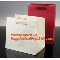 China Luxury shopping paper bag, different types design custom paper shopping bag wholesale