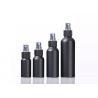 Buy cheap Custom 30ml 50ml 60ml 100ml Cosmetic Bottle Black Aluminum Perfume Spray Bottle from wholesalers
