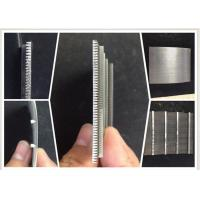 China 0.1MM Slot Wire Mesh Screen For Suger Cane Making / Wedge Wire Filter Easy Clean wholesale