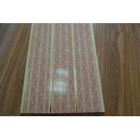 Fire Resistant PVC Ceiling Panels Bathroom Double Groove For Printing