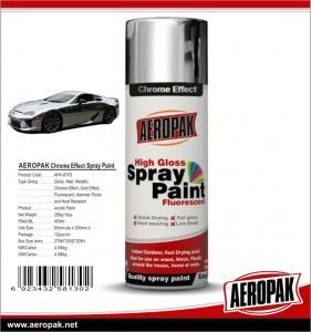 China Popular Decorative Wholesale Auto Mirror Chrome Aerosol Spray Paint Car Spray Paint on sale