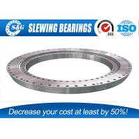 China Industrial Slew Ring Gears , Outer Gear Ball Bearing Ring For Excavator Part wholesale