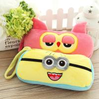 Buy cheap Personalized Cartoon Plush Disney Owl Pencil Case with Zipper from wholesalers