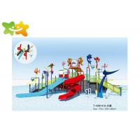 China Big Water Slide Equipment Multicolorful With Complete Set Accessories wholesale