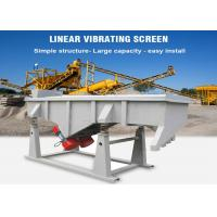 China Linear Sand Sieving Machine Multi-deck Vibrating Screen  Equipment wholesale