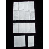Quality Virgin Wood Pulp Dinner Napkins White Paper Tissue support 1/8 fold for sale