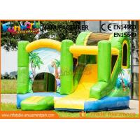 Buy cheap 0.55mm Vinyl Commercial Bouncy Castles / Inflatable Bounce House For Kids from wholesalers