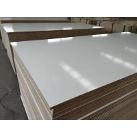 China Melamine Faced MDF / waterproof mdf board.melamine mdf for furniture,kitchen,wardrobe wholesale