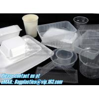 China Airtight leakproof microwave custom rectangle plastic meal compartment bento lunch box food storage container with FOOD wholesale