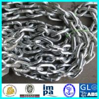 Buy cheap Galvanzied Ship Used Grade 3 Stud Link Anchor Chain With LR,BV,CCS,NK,ABS from wholesalers