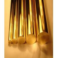 China Copper Round Solid Bronze Bar , Casting Solid Copper Round Bar Corrosion Resistance wholesale