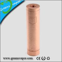 Quality GSV Mechanical Mod COPPER PENNY MOD CLONE 18650 for sale