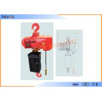 China Hard Hook Electric Chain Hoist With 360 Degree Rotatable Safety wholesale