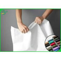 Buy cheap 100% Recyclable And Silk Surface Tyvek Fabric For Making Clothes Or Bags from wholesalers