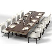 Quality Modern Wood Commercial Restaurant Furniture With Dining Room Chairs High Grade for sale